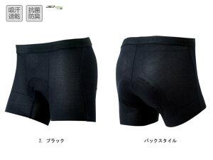 パールイズミ 女性用 W746MEGA メガ メッシュ インナーパンツ 【2. ブラック】