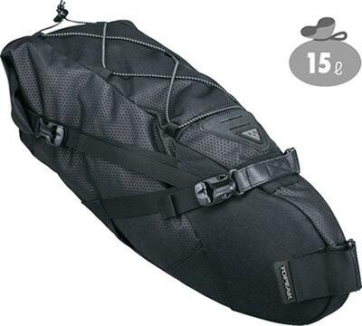 TOPEAK トピーク バックローダー 【15L】 自転車用 サドルバッグ リアバッグ 【送料無料】(沖縄・離島を除く)