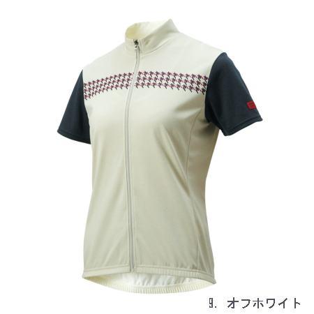 パールイズミ 女性用 W336-B フリージー サイクル ジャージ 【9. オフホワイト】
