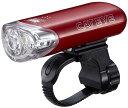 キャットアイ HL-EL140 メタリックレッド LED ライト 自転車