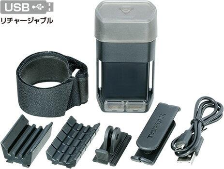 TOPEAK トピーク モバイル パワーパック 6000 デュアル ポート 自転車用 【送料無料】(沖縄・離島を除く)