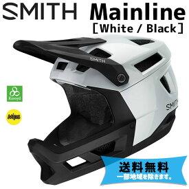SMITH スミス Mainline メインライン White / Matte Black ホワイト/マットブラック 自転車 ヘルメット 送料無料 一部地域は除く