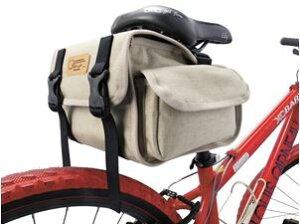 オーストリッチ SP-731 サドルバッグ ベージュ 自転車
