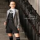卒業式 スーツ 女の子 小学生 パンツ 145 150 160 165cm パンツスーツ 4点セット (ジャケット パンツ リボンタイ ワッ…