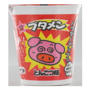 おやつカンパニー ブタメンとんこつ味(めん30G) 37g×30個 【送料無料】