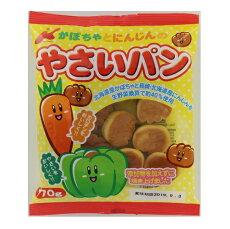 カネ増製菓かぼちゃとにんじんのやさいパン70g×32個【送料無料】
