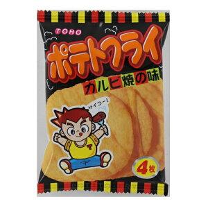 東豊製菓 ポテトフライカルビ焼 11g×60個 【送料無料】