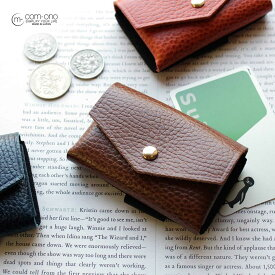 com-ono(コモノ) ミニマム財布 ミニ財布 コンパクト 二つ折り メンズ TINY-001 日本製 国産