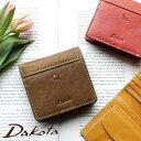 【新型入荷】【選べるノベルティ大好評】コンパクト財布 薄型 二つ折り財布 ミニマム Dakota ダコタ プレドラ 0036267