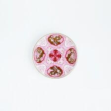 和食器中皿JAPANAUTUMN和皿19cm木甲桐紋ワインレッド和モダンブランド食器食器ギフトデザートプレートお歳暮アリタポーセリンラボ