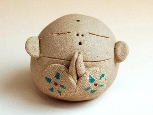 お地蔵さん 置物 かわいい 陶器 有田焼 波佐見焼 幸せ豆地蔵