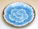 和食器 おしゃれ かわいい 有田焼 波佐見焼 大きめのお皿 プラチナ牡丹 ケーキ皿