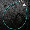 【アリゾナフリーダム トップNO.110】筒型ターコイズビーズ(小)ネックレス【smtb-m】【StoneTop】