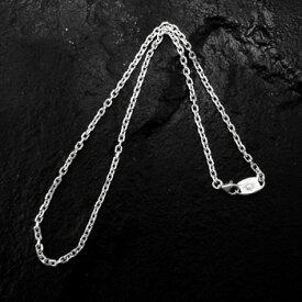 アリゾナフリーダム シルバーアクセサリー ネックレス 【NO.1】 小豆 シルバー チェーン (極細) 45cm 素材: SV925 【NecklaceChain】【A-s】