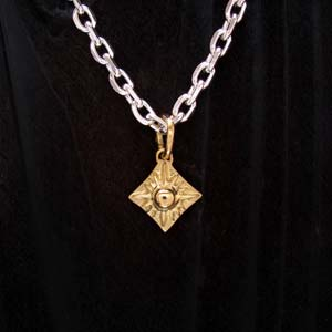 ARIZONA FREEDOM ゴールドアクセサリー Gold ペンダントトップ 【NO.18】 ゴールド NO.18 セカンドトップ ( ダイヤ型 ) 素材: K18 【GoldTop】