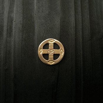 ARIZONA FREEDOM ゴールドアクセサリー Gold ペンダントトップ 【NO.28】 ゴールド メディスンホイール 15mm 素材: K18 【GoldTop】