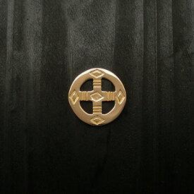 ARIZONA FREEDOM ゴールドアクセサリー Gold ペンダントトップ 【NO.28】 ゴールド メディスンホイール 18mm 素材: K18 【GoldTop】