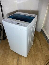 【中古】2018年製 ハイアール Haier 洗濯機 4.5k JW-C45A1人暮らし用 タイプ
