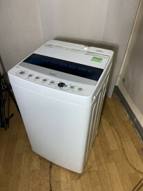 【中古】2019年製 ハイアール Haier 洗濯機 4.5k JW-C45D1人暮らし用 タイプ