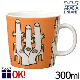 アラビア ムーミン マグカップ 300ml ニョロニョロ 5594 ARABIA Moomin Hattifatteners