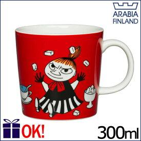 アラビア ムーミン マグカップ 300ml リトルミイ レッド リトルミィ ARABIA Moomin Little My Red