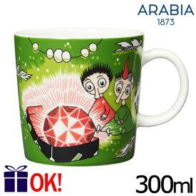 アラビア ムーミン マグカップ 300ml 新トフスランとビフスラン 0458 ARABIA Moomin Thingumy & Bob