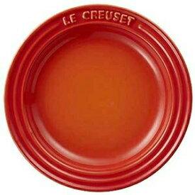 【正規代理店品】 ル・クルーゼ プレート15cm オレンジ ストーンウェア ルクルーゼ Le Creuset