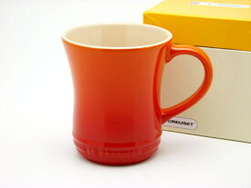 【正規代理店品】 ル・クルーゼ マグカップ S オレンジ 280ml ストーンウェア Le Creuset