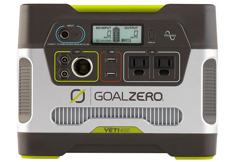 【ポイント2倍商品※楽天スーパーSALE期間】【送料無料】Goal Zero Yeti 400 Solar Generator R2 正規代理店保証付(日本語取説付) bt124
