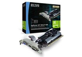 ELSA GEFORCE GT 730 LP 1GB 正規代理店保証付