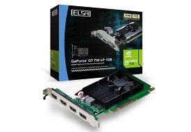 【送料無料】ELSA GEFORCE GT 730 1GB QD 正規代理店保証付 2月14日発売