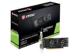 【送料無料】MSI GeForce GTX 1650 4GT LP 正規代理店保証付 vd6989