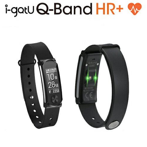 Mobile Action 腕時計型心拍計搭載 活動量計 Bluetooth スマートリストバンド i-gotU Q-Band HR+ 【Q-68HR】