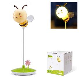 3段階調光 充電式 蜂デザインの LEDライト ハニービーライト HoneyBeeLight 蜜蜂灯