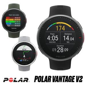 POLAR(ポラール) ランニングウォッチ 軽量プレミアム マルチスポーツウォッチ Polar Vantage V2