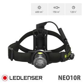 LEDLENSER(レッドレンザー) 最大600ルーメン ヘッドランプ ヘッドライト NEO10R Black