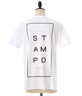 Stampd (stampd) /Stacked Logo Tee (STAMPD LA DOPE by STAMPD doped T shirt short sleeve shirt) SLA-M749TE