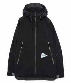 and wander / アンドワンダー : nylon stretch jacket : ナイロン ジャケット ナイロンストレッチジャケット メンズ : AW91-FT042 【PIE】
