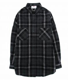 【ウィンターキャンペーン!】VOTE MAKE NEW CLOTHES / ヴォート メイク ニュークローズ : MARVEL NEL BIG SHIRTS : マーベル ネルシャツ ビッグシャツ 19SS 19春夏 メンズ : 19SS-0022 【WAX】