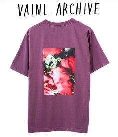 【期間限定ポイント10倍!】VAINL ARCHIVE / ヴァイナルアーカイブ : SOMEHOW LIKES / 全3色 : Tシャツ 半袖 カットソー メンズ : 2219-018 【NOA】