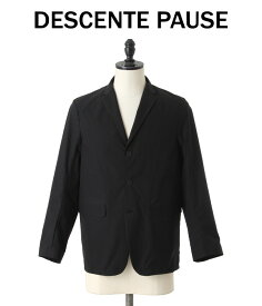 DESCENTE PAUSE / デサントポーズ : PACKABLE JACKET / 全2色 : パッカブルジャケット ジャケット セットアップ メンズ : DLMMJF30【NOA】【WIS】