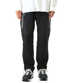 and wander / アンドワンダー : stretch shell pants reflect / 全2色 : ストレッチシェルパンツ パンツ ストレッチパンツ : AW83-FF014 【PIE】