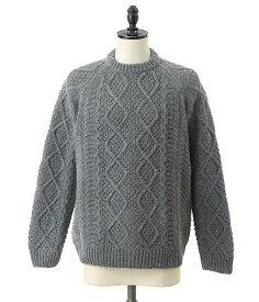 snow peak / スノーピーク : alpaca knit pullover / 全2色 : アルパカニット プルオーバー メンズ : KN-18AU001【PIE】