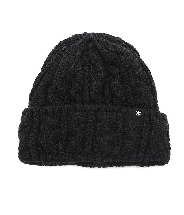 snow peak / スノーピーク : Wool Knit Cap : ウールニットキャップ メンズ : UG-778【PIE】