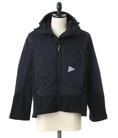 and wander / アンドワンダー : top fleece jacket : トップフリースジャケット メンズ : AW83-JT636 【PIE】【REA】