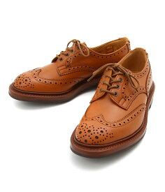 【送料無料】Tricker`s / トリッカーズ : WING TIP SHOES RIDGEWAY SOLE -C SHADE- : ウィングチップ シューズ リッジウェイ ソール 短靴 メダリオン 穴飾り レースアップ 本革 メンズ : 5633-CSHADE 【MUS】