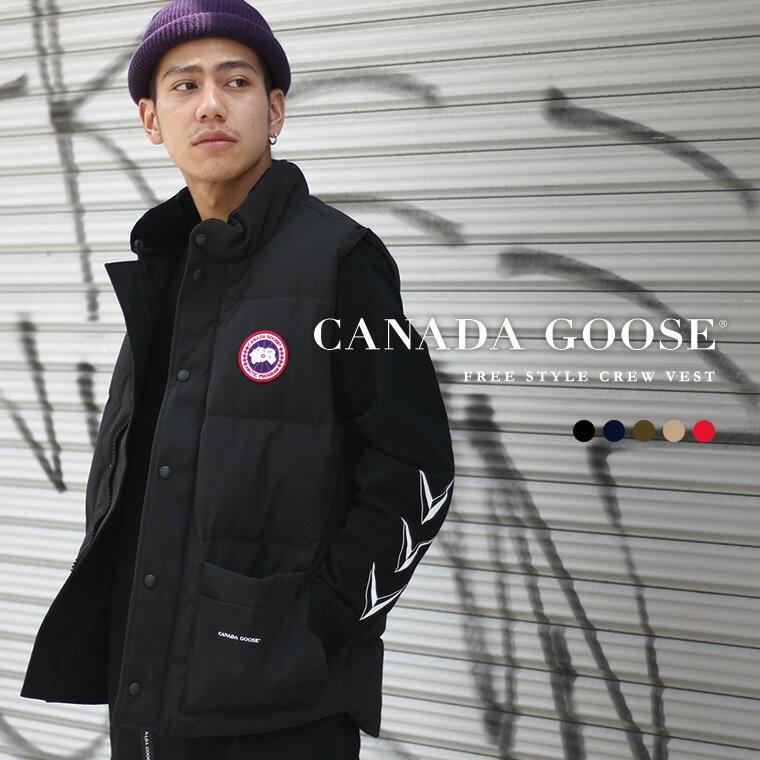 CANADA GOOSE / カナダグース メンズ : FREESTYLE CREW VEST / 全6色 : カナダグース メンズ フリースタイル ダウンベスト ヘビーアウター ダウンジャケット ダウン : 4154M-SZ【STD】【REA】
