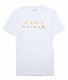 【アウトレットキャンペーン!】SATURDAYS NEW YORK CITY / サタデーズニューヨークシティ : Miller Standard S/S Tee / 全2色: ミラー スタンダード Tシャツ カットソー メンズ: M21929PT01 【PIE】