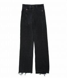 77circa / ナナナナサーカ : 【別注】circa make cut off rotated 90° denim pants(length 105) -26inch- : 別注 サーカ メイク カットオフ デニムパンツ パンツ レディース : cc-ak01-26-01 【ANN】