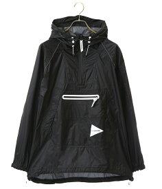 【期間限定送料無料!】and wander / アンドワンダー : fly rain anorak hoodie : フライ レイン アノラック フーディー メンズ : AW91-FT004 【PIE】